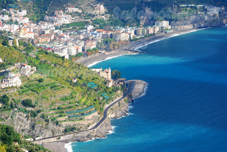 Panorama di Maiori da Ravello