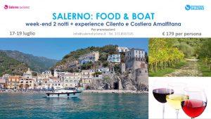 Salerno, food e boat